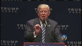"Donald Trump to Charlotte crowd: ""I will not let you down, watch"""