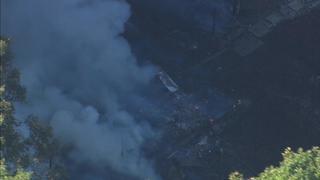 IMAGES: Fire destroys home in Lancaster Co.