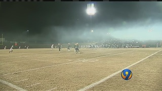 High school football goes on schedule despite smokey conditions