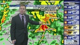 FORECAST: Heavy rain will push into Charlotte late Monday