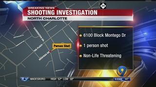CMPD investigates shooting near The Plaza