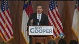 Cooper finally gets to celebrate with supporters