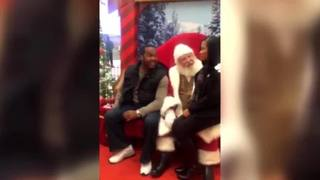 VIDEO: Man proposes to wife with Santa present at Concord Mills