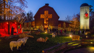 Billy Graham Library gets festive for the holidays