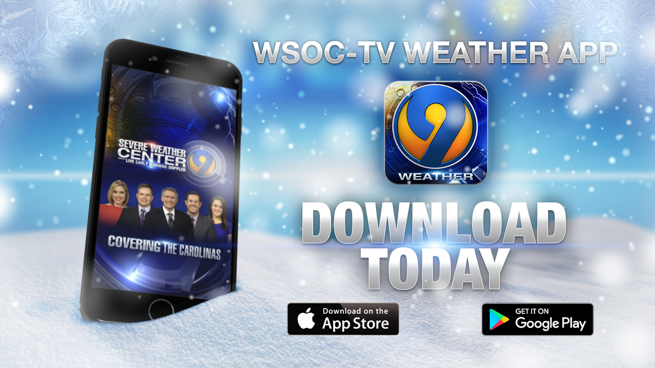 Track the winter storm with the free WSOC-TV Weather app | WSOC-TV