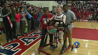 Dream comes true for Morganton teen with cerebral palsy