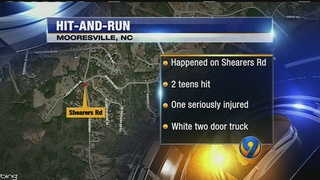 Police: 2 teens on bikes struck by hit-and-run driver in Mooresville