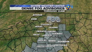 FORECAST: Fog lifts in local counties, clouds stick around