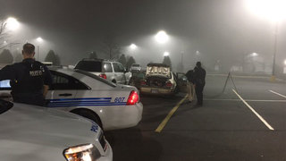 Man shot inside car at west Charlotte Walmart, police say