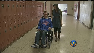 Morganton teen with cerebral palsy gets dream of lifetime to play on…