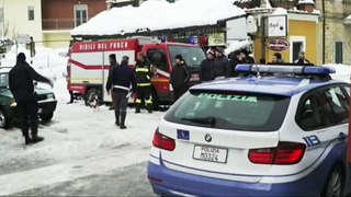 30 missing in central Italy avalanche that buries hotel