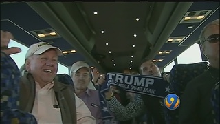 Gastonia group heads to Washington to support Trump