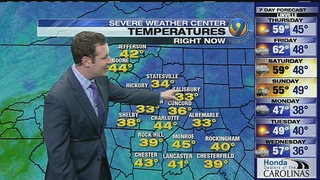 FORECAST: Temps stay in 60s before rain arrives Friday