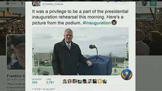 Rev. Franklin Graham to speak at inauguration