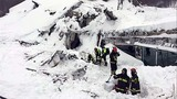 Joy erupts as Italian rescuers pull out avalanche survivors