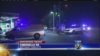 Man shot at gas station, CMPD says