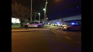 PHOTOS: Driver arrested after slamming into CMPD cruiser