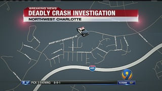 Speed, alcohol factors into deadly crash in northwest Charlotte, police say