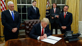 Trump acts on campaign promise, takes first steps toward repealing…