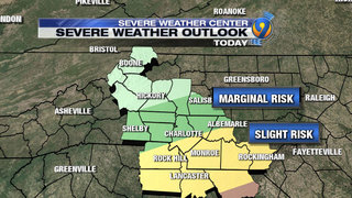 Heavy rain, strong winds remain threats as storm system moves toward Carolinas