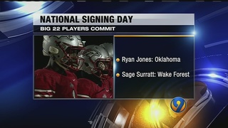 Local athletes in the spotlight on National Signing Day
