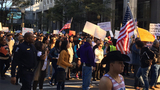 IMAGES: Protesters shut down Tryon Street in… - (29/34)