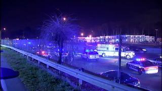 PHOTOS: Pedestrian struck and killed on I-85, police say