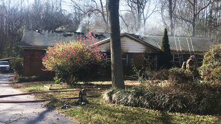 2 pets killed when flames race through east Charlotte home