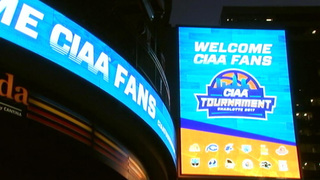 CMPD steps up presence as fans flock to uptown for CIAA Tournament
