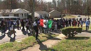 Garinger High School students stage walk out over immigration policies