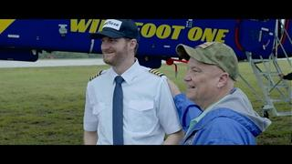 WATCH: NASCAR driver Dale Earnhardt Jr. surprises NC vet on blimp