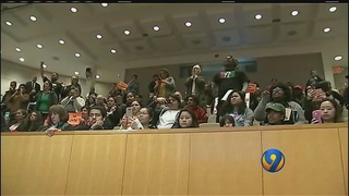 Outbursts over immigration recent policy takes over city council meeting