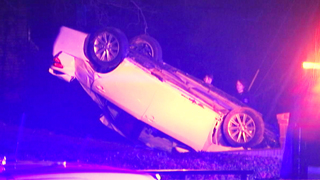 CMPD: 2 in custody after overnight chase, crash in west Charlotte