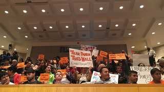 Immigration protesters disrupt City Council with