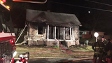PHOTOS: Flames rip through Gaston County home - (1/4)
