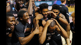 South Carolina celebrates after stunning… - (9/20)