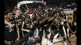 South Carolina celebrates after stunning… - (13/20)