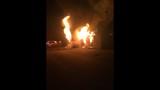 PHOTOS: Flames rip through Gaston County home - (2/4)