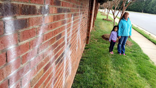 Residents wake up to swastikas, KKK graffiti in several neighborhoods