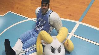 10 years later, UNC mascot