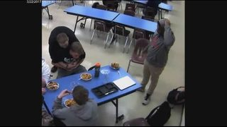 Student saves choking friend in cafeteria