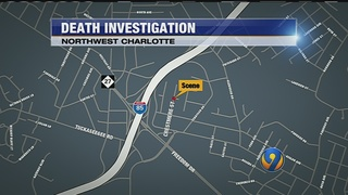 Police conduct death investigation in northwest Charlotte