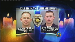 CMPD remembers Clark, Shelton as 10-year anniversary of deaths approaches