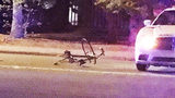 IMAGES: Bicyclist struck by public safety… - (8/10)
