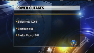 1,068 Duke Energy customers lose power in Ballantyne