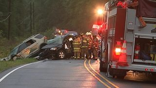 1 dead in three-car crash in Concord