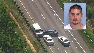 MUST WATCH: Authorities use PIT maneuver to end chase in Iredell County