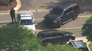IMAGES: Suspect shot, injured in Kannapolis officer-involved shooting