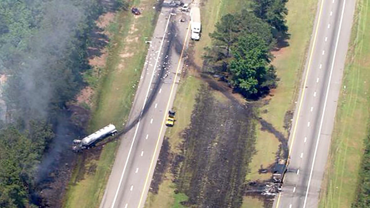 Traffic accident on i95 in south carolina