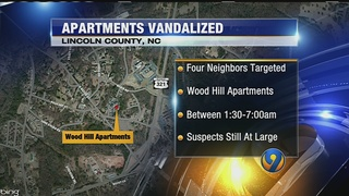 Slurs spray-painted on homes at Lincoln County apartment complex